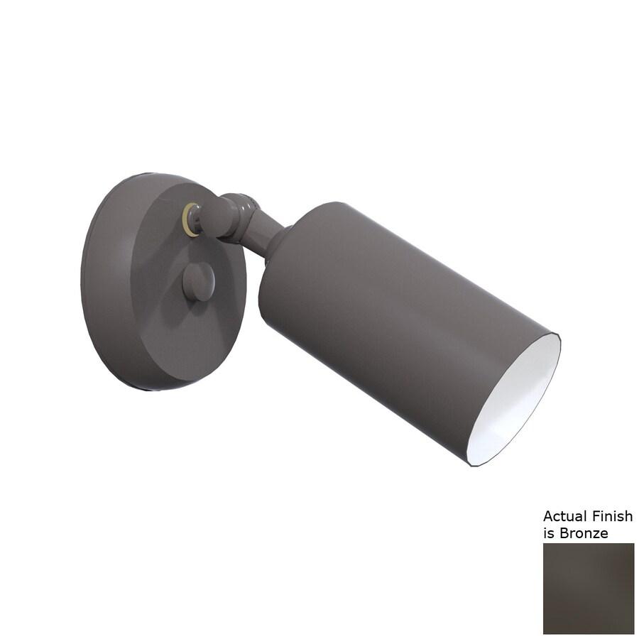 Remcraft Lighting Cylinders H Bronze Outdoor Wall Light