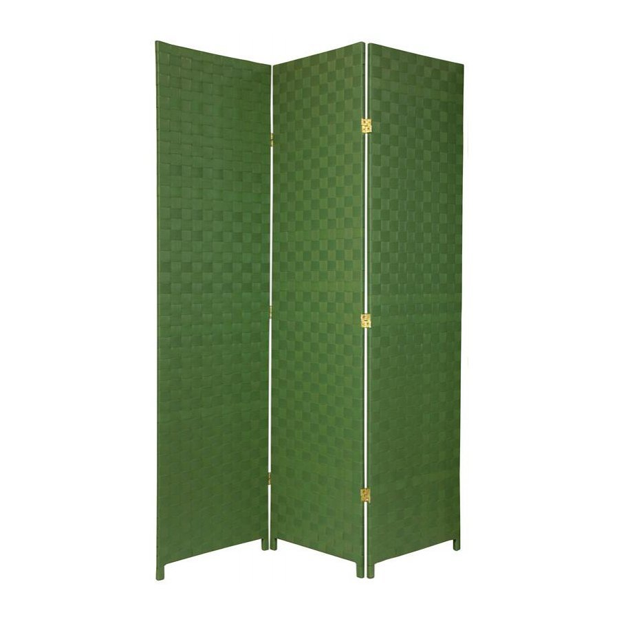 Shop Oriental Furniture 52 5 In W X 71 In H Green Vinyl