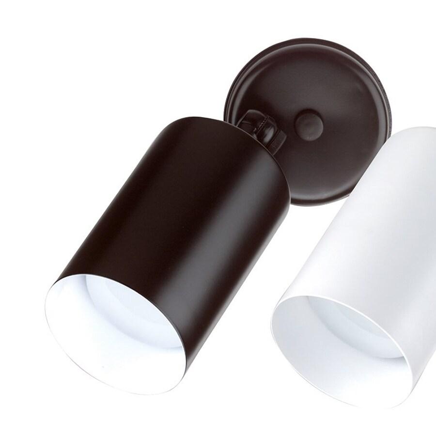 Shop nicor lighting black single cylinder bullet outdoor for Bullet landscape lights