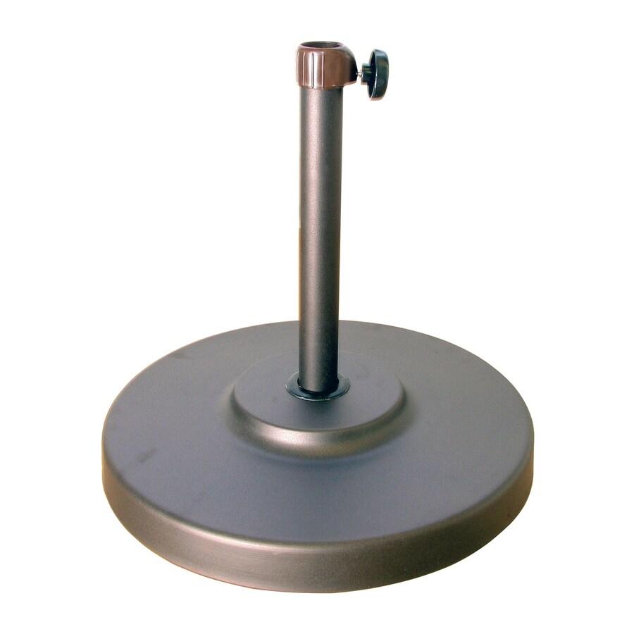 Umbrella Stand Hardware: Shop Phat Tommy Bronze Patio Umbrella Base At Lowes.com