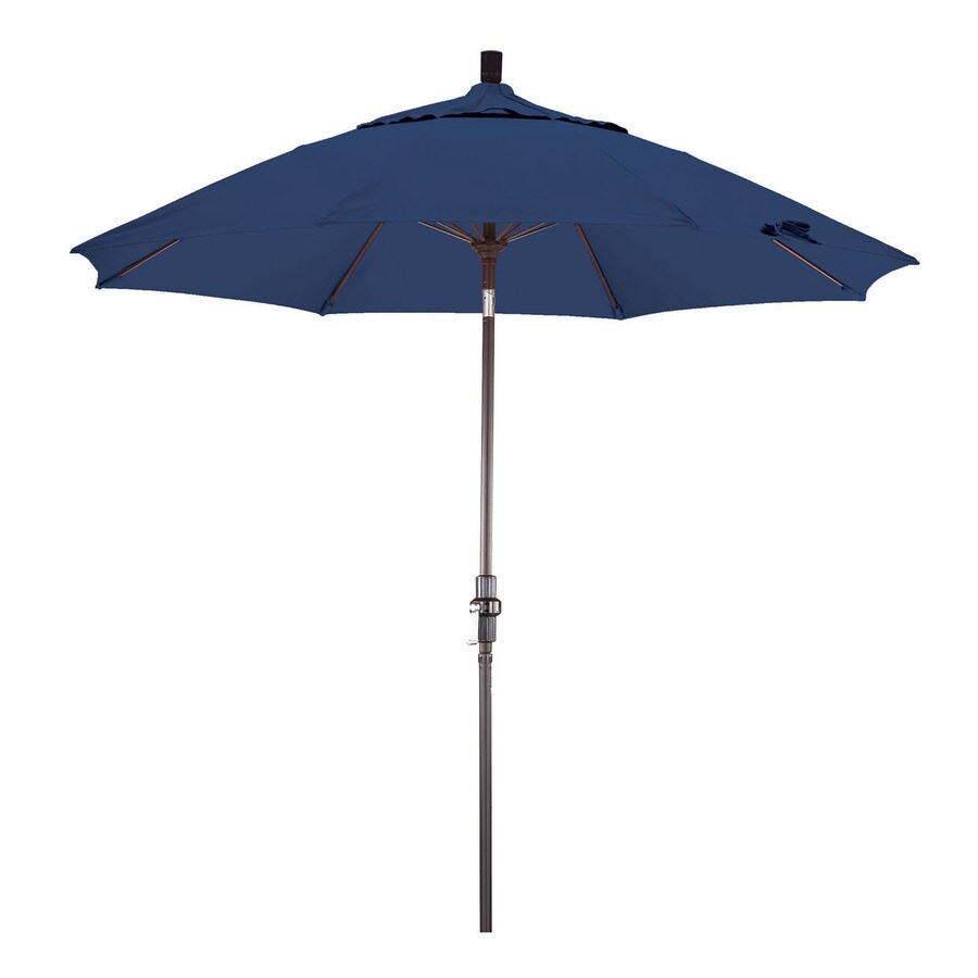Phat Tommy Outdoor Oasis Sapphire Market Patio Umbrella (Common: 9-ft W x 9-ft L; Actual: 9-ft W x 9-ft L)
