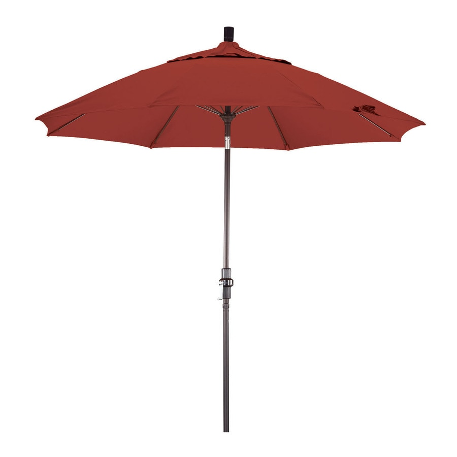 Phat Tommy Outdoor Oasis Tuscan Orange Market Patio Umbrella (Common: 9-ft W x 9-ft L; Actual: 9-ft W x 9-ft L)