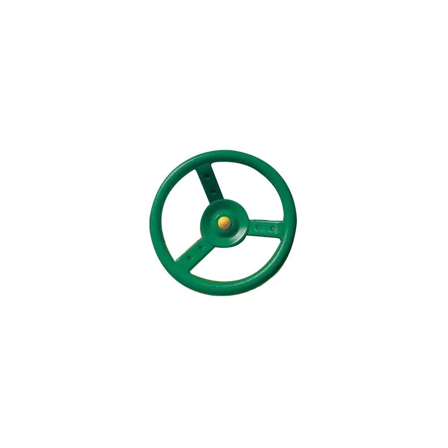 Creative Playthings Green Steering Wheel