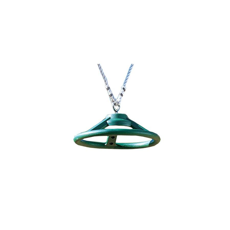 Creative Playthings Green Spinning Wheel