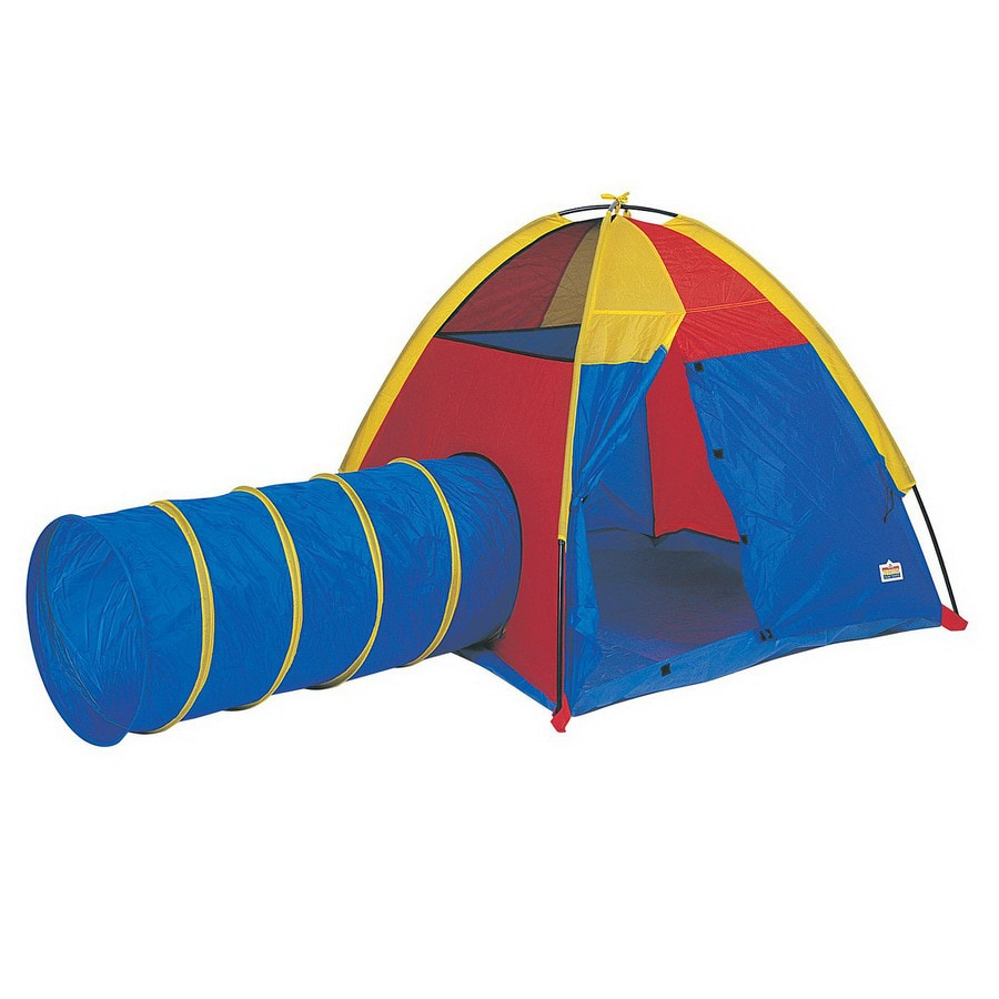 Pacific Play Tents Hide Me Play Tent and Tunnel Combination Metal Playhouse Kit