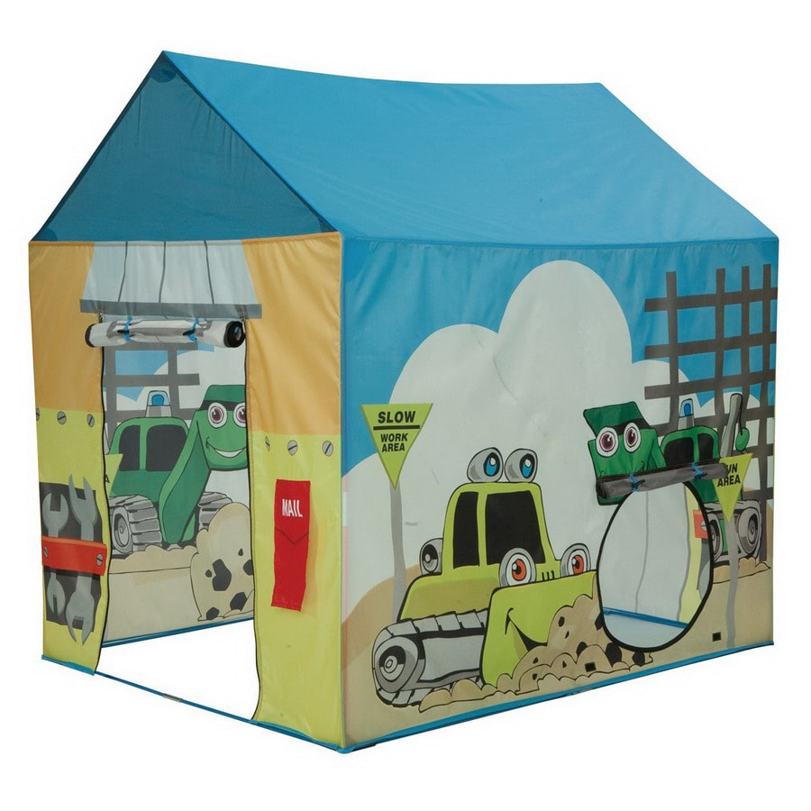 Shop pacific play tents construction zone tent plastic for Pvc playhouse kit