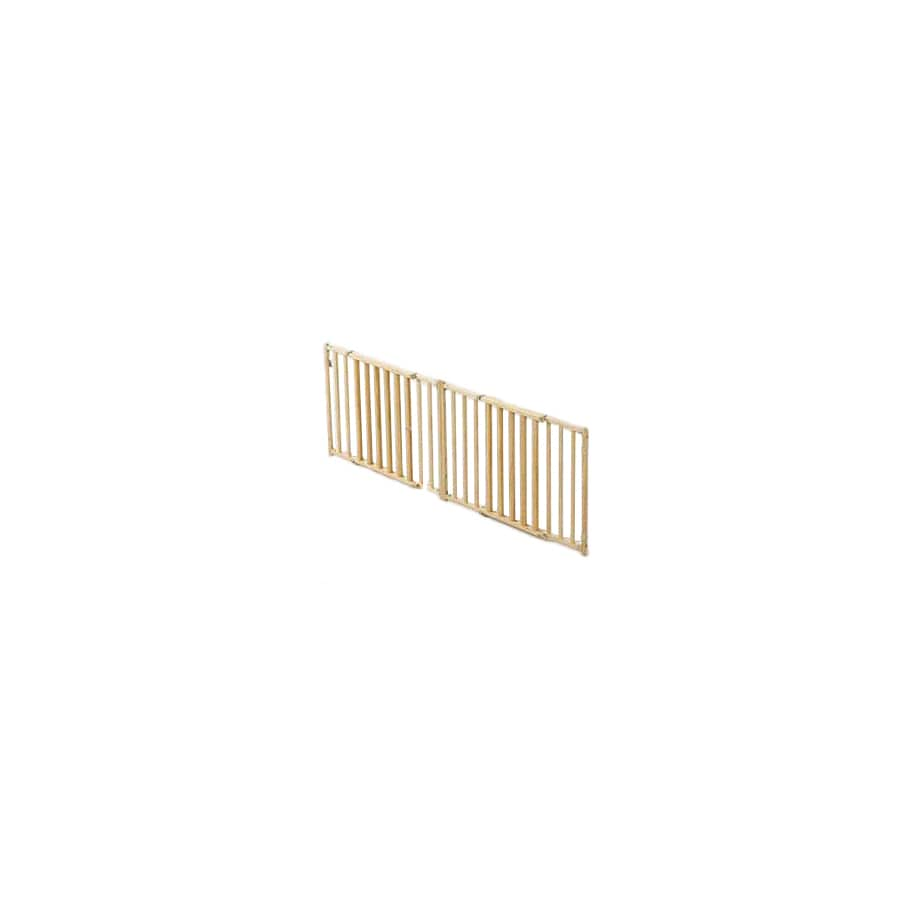 midwest pets 53-in W Freestanding Wood Expandable Pet Gate