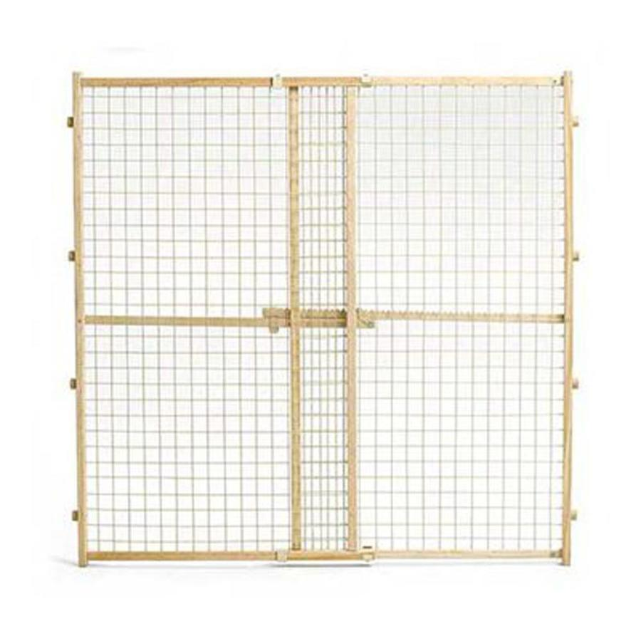 midwest pets 29-in W Freestanding Wood Expandable Pet Gate