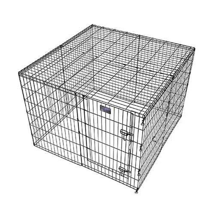 midwest pets 4-ft x 4-ft x Black Wire Pet Mesh Top