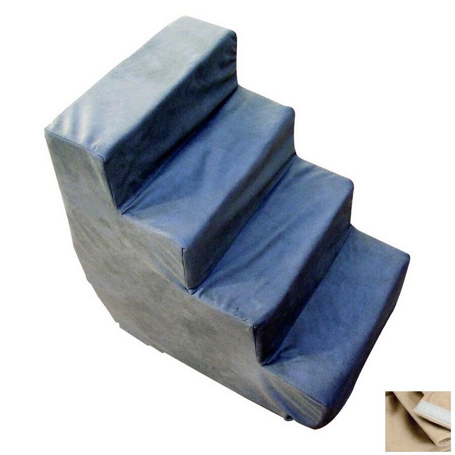 Snoozer Luxury 3-Step Buckskin Foam Pet Step