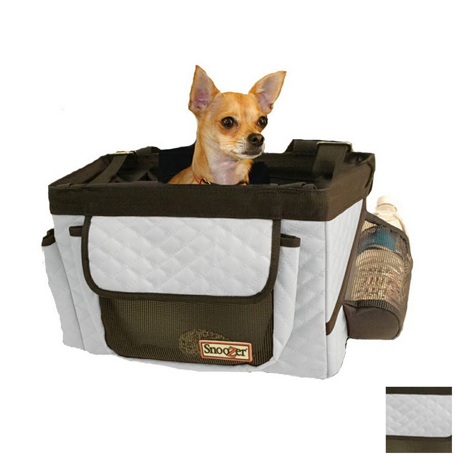 Snoozer 1.08-ft x 0.83-ft x 0.83-ft Grey Pet Carrier