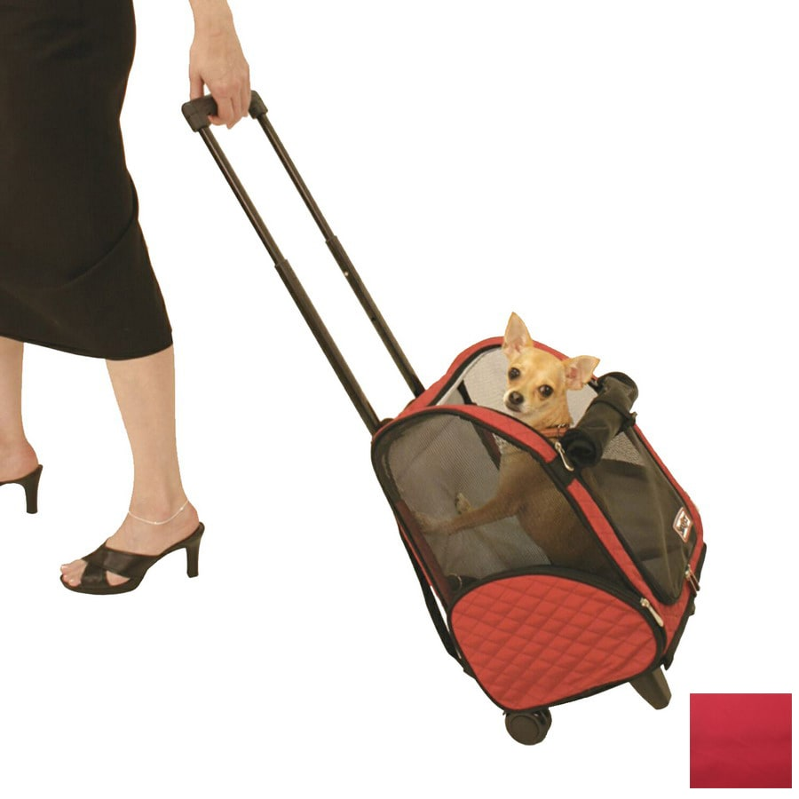 Snoozer 1-ft x 0.66-ft x 1.45-ft Red Pet Carrier