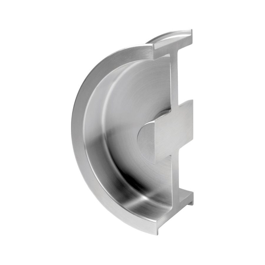 Sugatsune 1.375-in Stainless Steel Passage Pocket Door Pull
