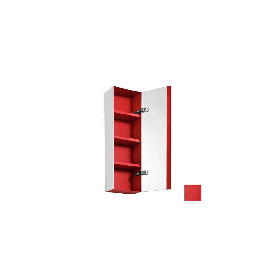 WS Bath Collections Linea 10.4-in x 31.5-in Rectangle Surface Mirrored Aluminum Medicine Cabinet
