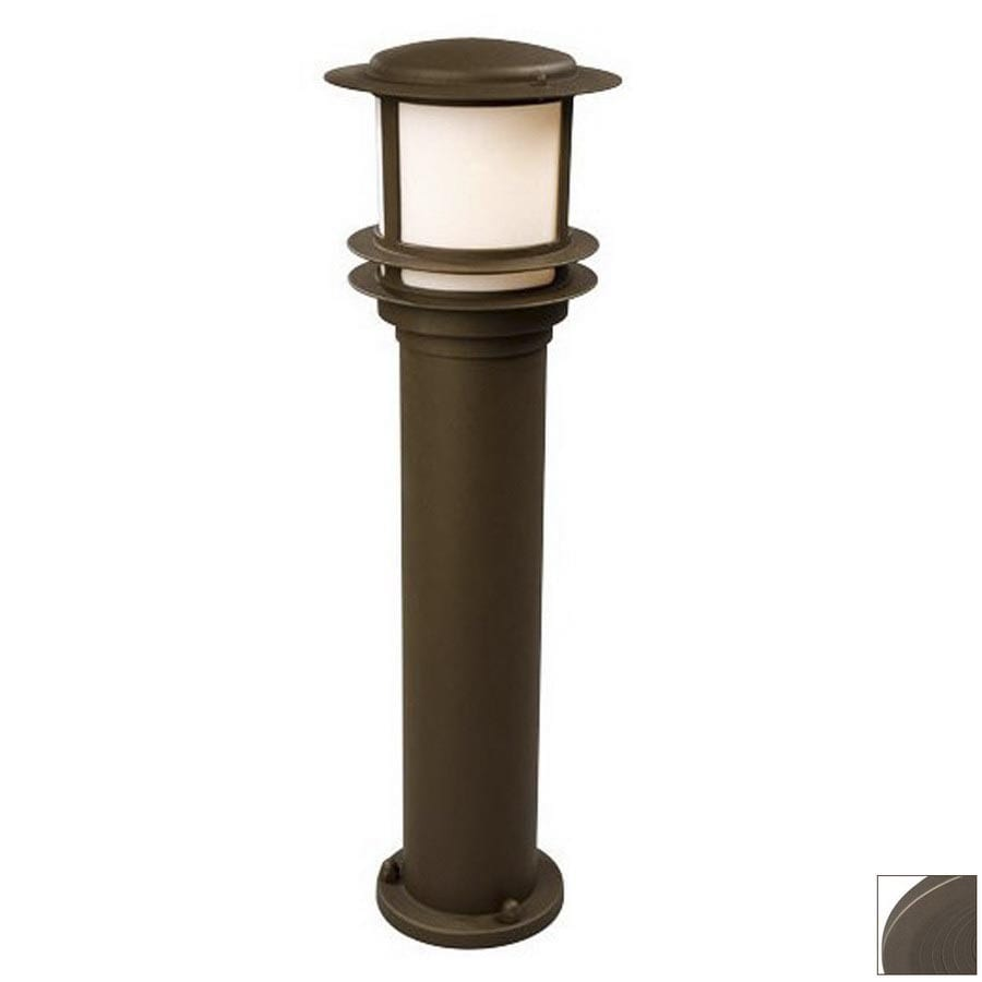 Galaxy 30-in H Bronze Post Light