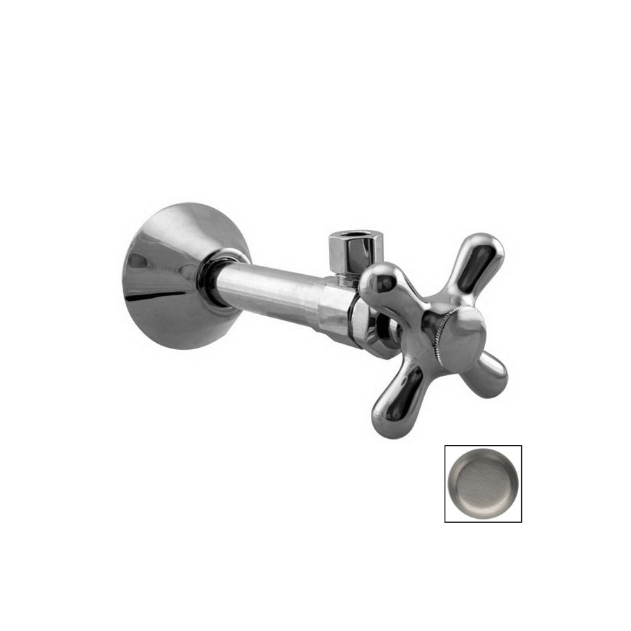 Westbrass Brushed Nickel Angle Valve