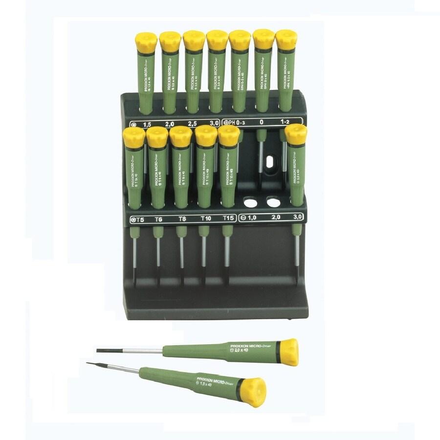 Proxxon 16-Piece Variety Pack Screwdriver Set