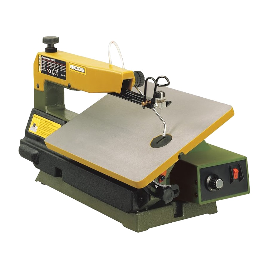 Shop Proxxon 16 Amp Variable Speed Scroll Saw At Lowes