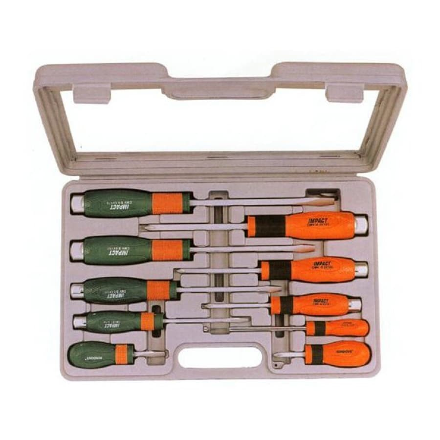 Morris Products 10-Piece Variety Pack Screwdriver Set