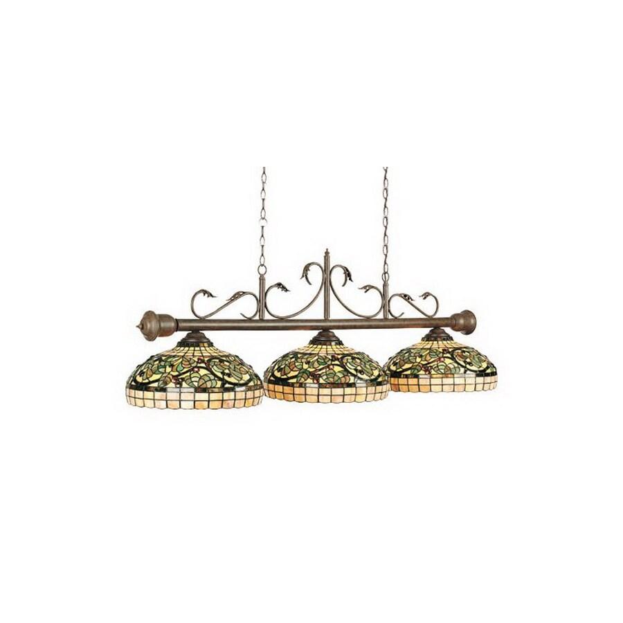 RAM Gameroom Products Sonoma Vintage Bronze Pool Table Lighting