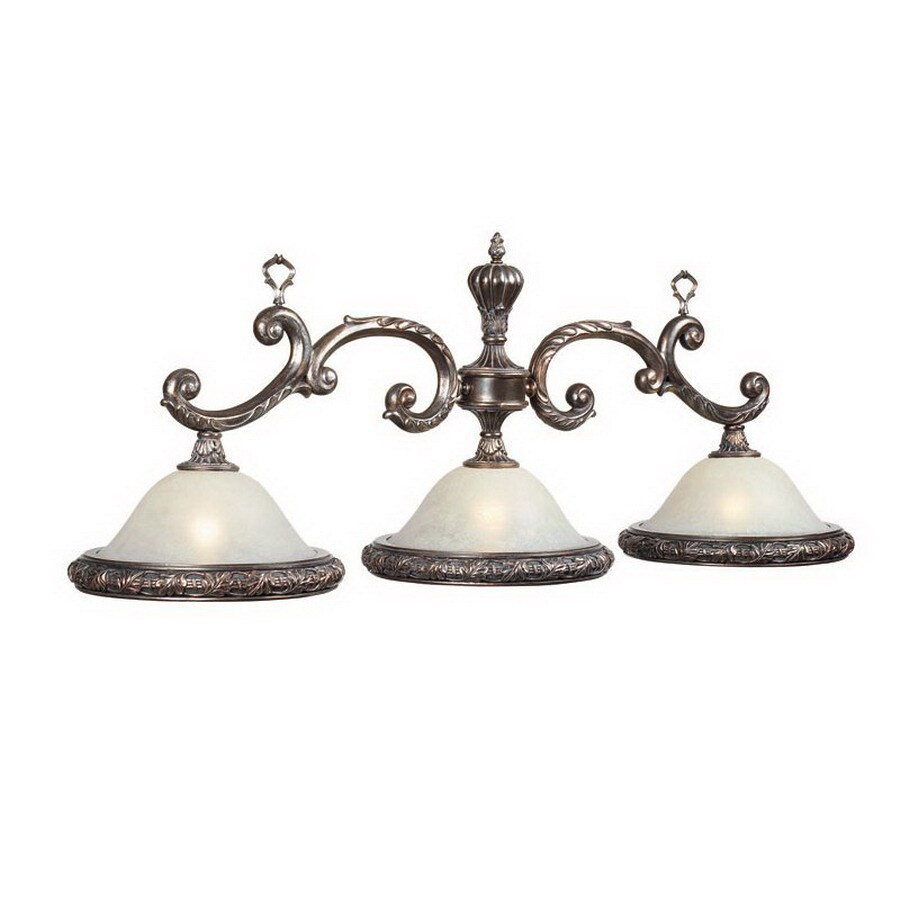 RAM Gameroom Products Ornamental Weathered Bronze Pool Table Lighting