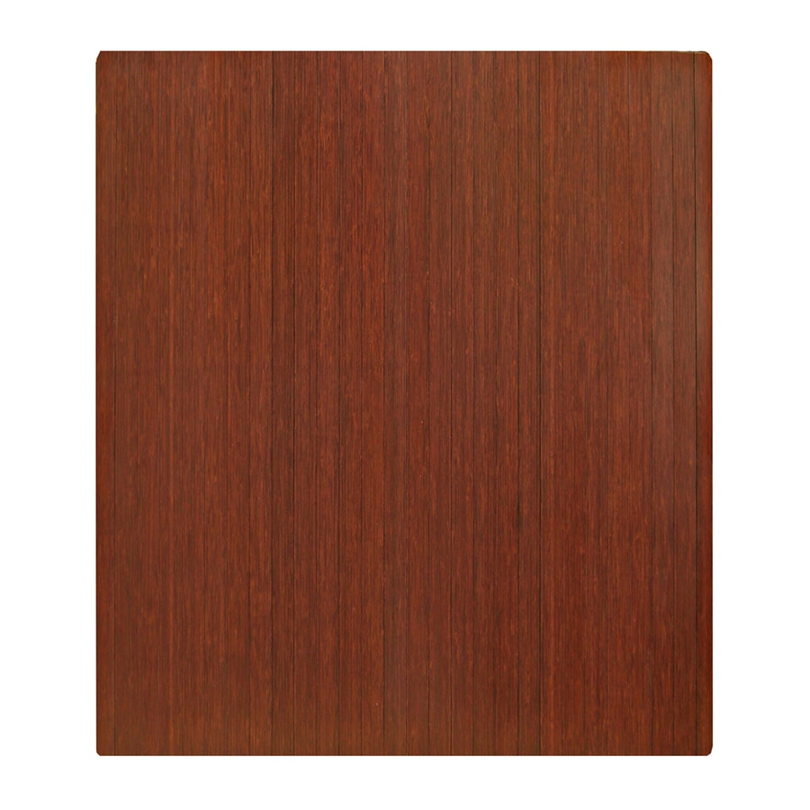 Anji Mountain Dark Cherry Chair Mat (Common: 3-ft x 4-ft; Actual: 42-in x 48-in)
