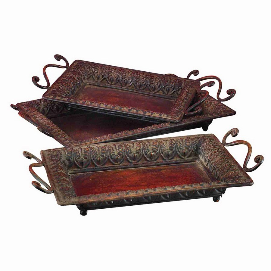 Woodland Imports Rectangle Serving Tray