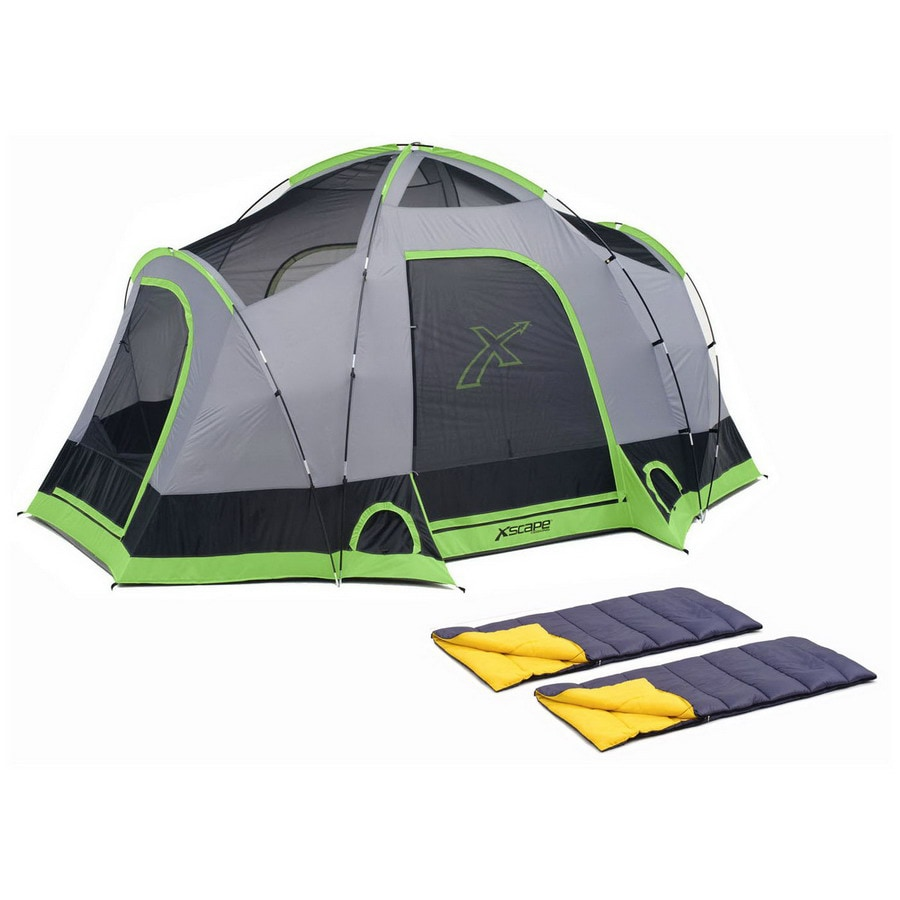 Xscape Vista 6 and Sleeping Bag Combo