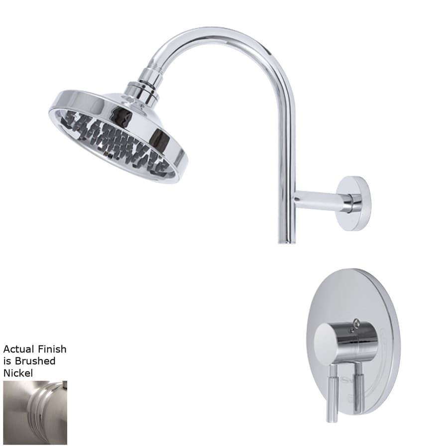 Premier Faucet Essen Brushed Nickel 1-Handle Shower Faucet with Single Function Showerhead