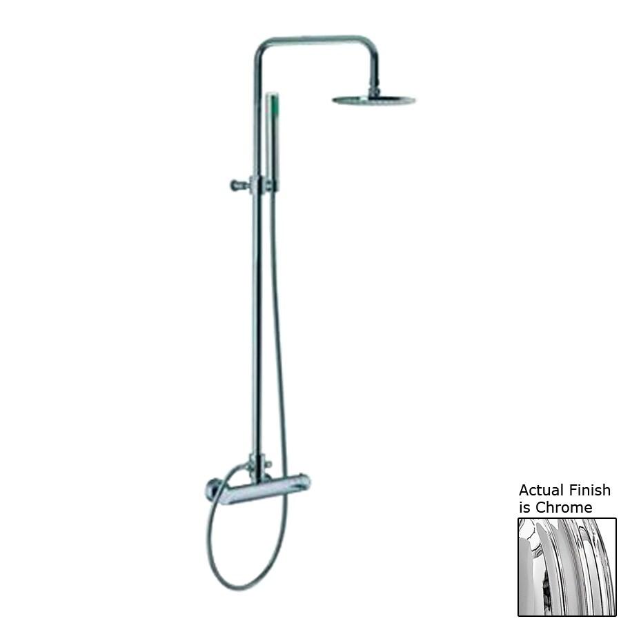 Nameeks Spillo Chrome Showerheads with Hand Showers