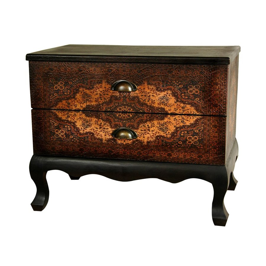Oriental Furniture Olde-Worlde European Office Cabinet