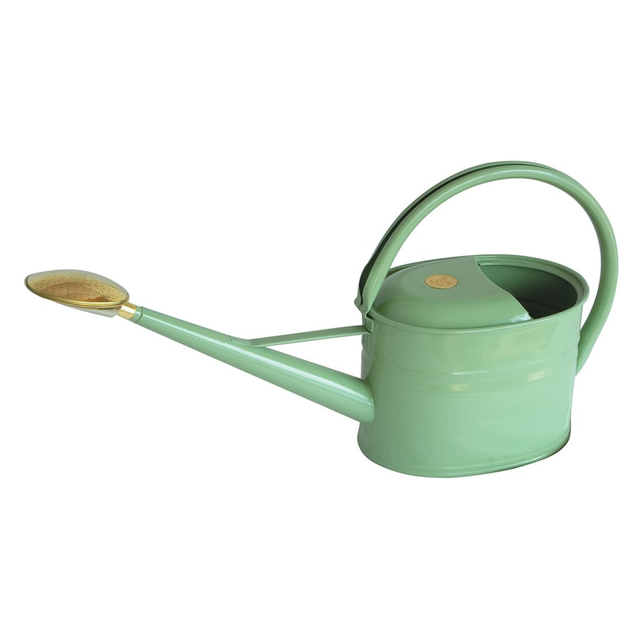 Shop bosmere slimcan sage metal watering can at - Gallon metal watering can ...