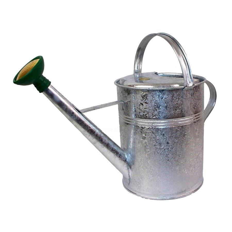 Bosmere 2.3-Gallon Galvanized Metal Traditional Watering Can