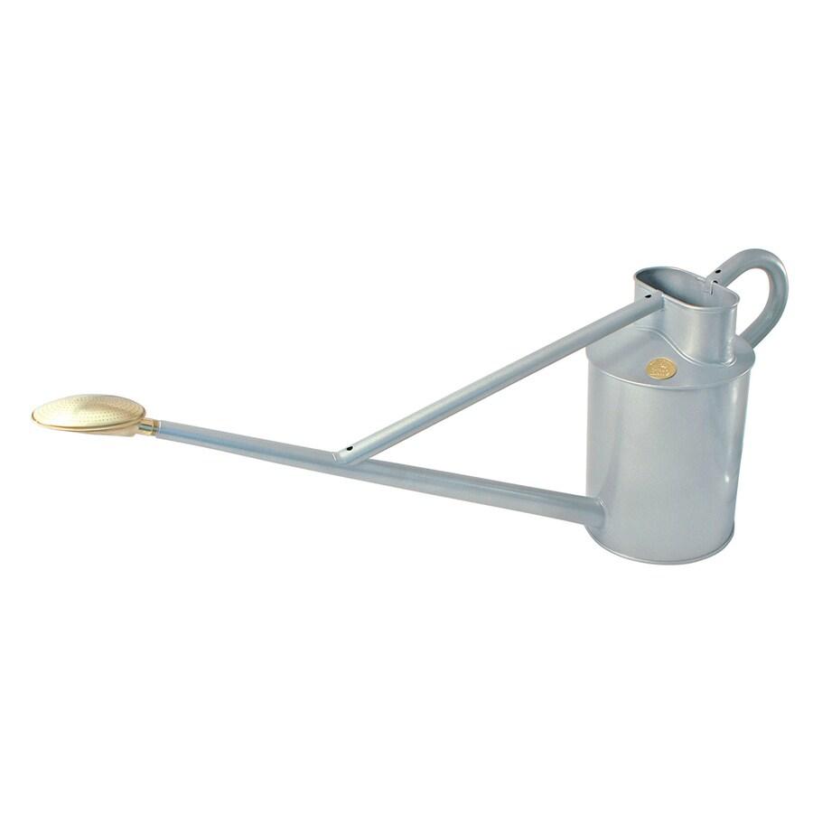 Shop bosmere 2 3 gallon titanium metal professional watering can at - Gallon metal watering can ...