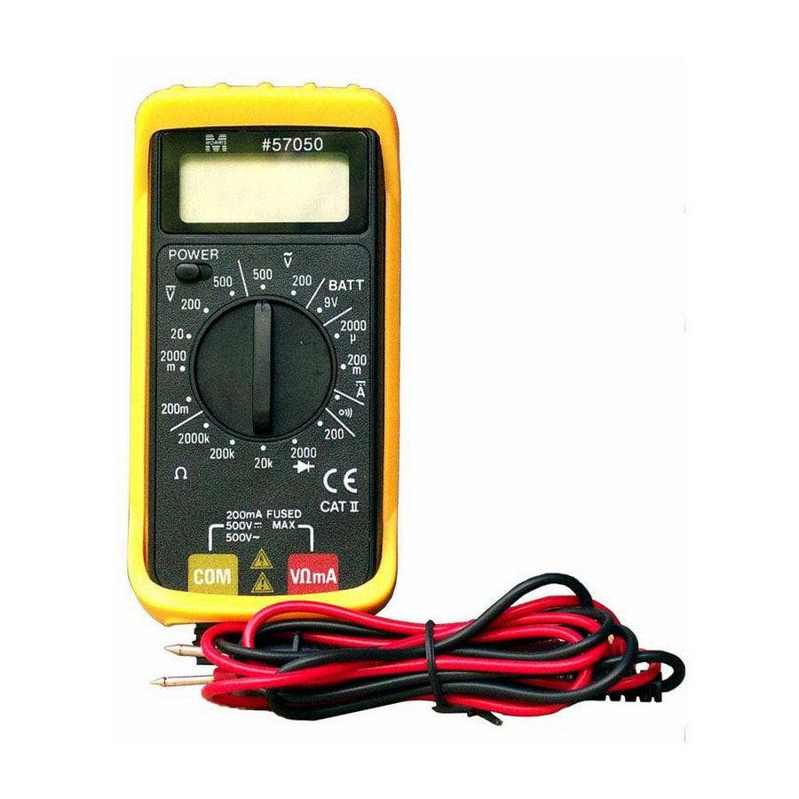 Product Digital Multimeter : Shop morris products digital multimeter meter at lowes