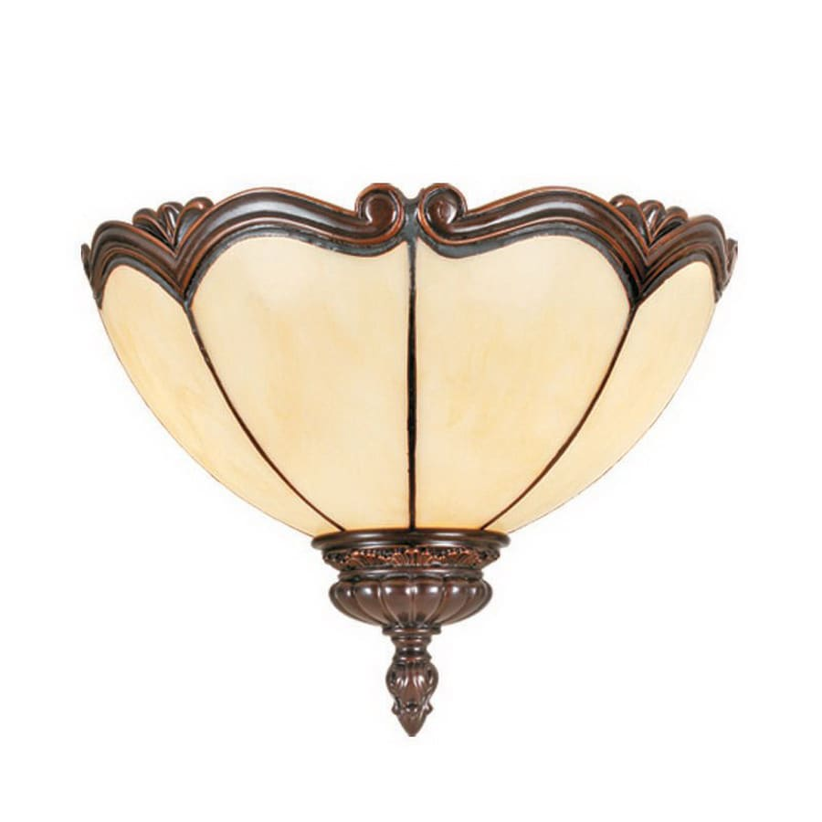 Shop RAM Gameroom Products Seville 12-in W 1-Light Cream Pocket Hardwired Wall Sconce at Lowes.com