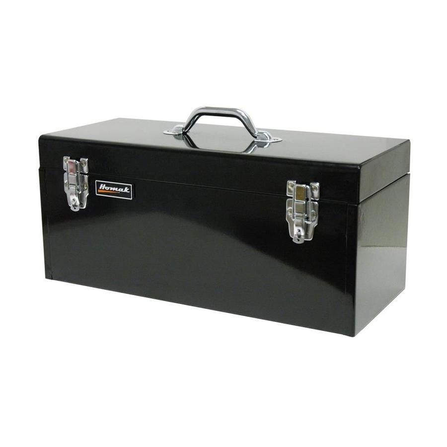 Homak 20-in Black Steel Lockable Tool Box