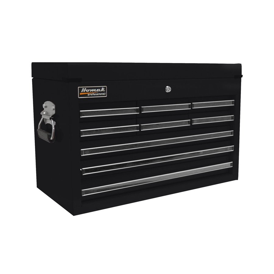 Homak Professional 17-in x 26-in 9-Drawer Ball-Bearing Steel Tool Chest (Black)