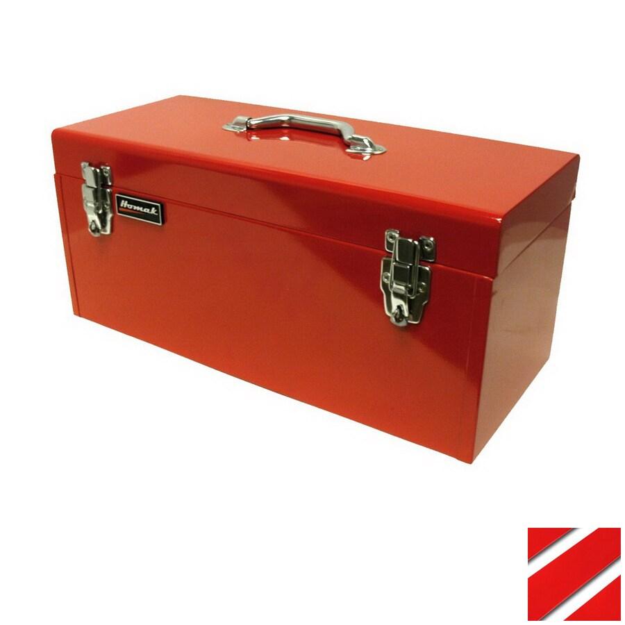 Homak 20-in Steel Lockable Tool Box