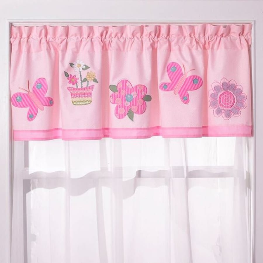 My World Anna's Dream 70-in Pink Cotton Valance