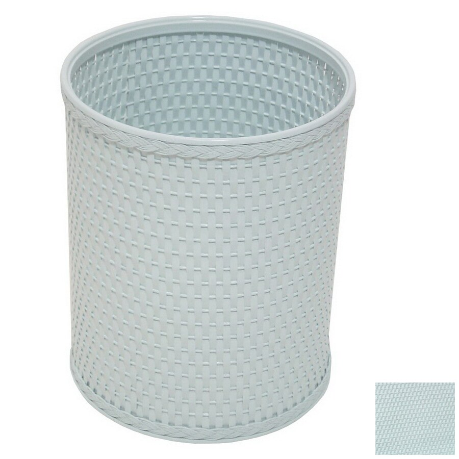 Redmon Chelsea Illusion Blue Mixed Material Wastebasket