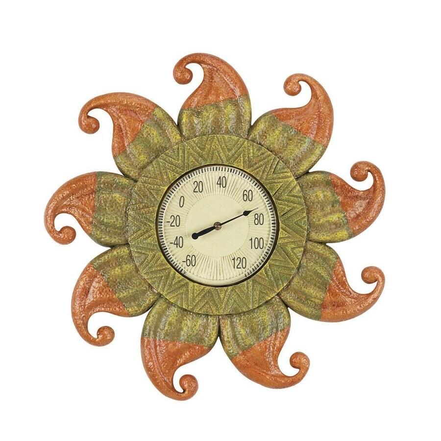 RAM Gameroom Products Wireless Indoor/Outdoor Handpainted Sun Thermometer