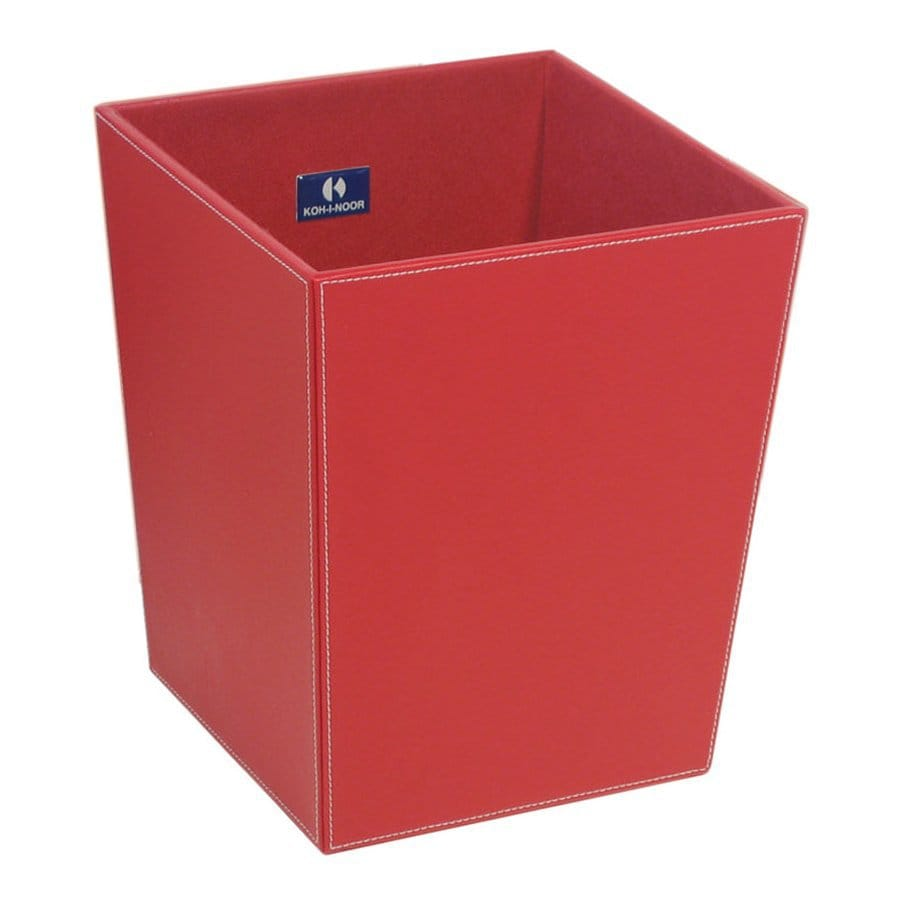 WS Bath Collections Complements II 13-Liter Red Indoor Trash Can