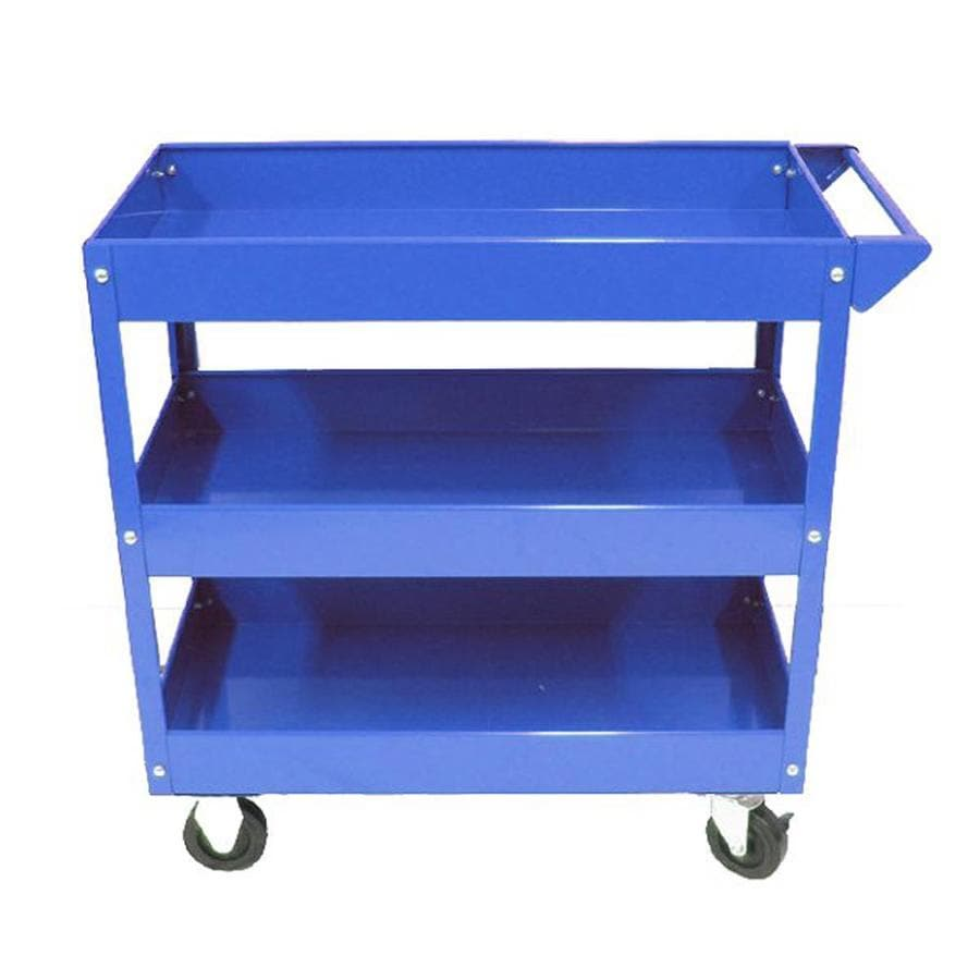 Alera Industrial Kitchen Carts At Lowes Com: Shop Excel 30.7-in Utility Cart At Lowes.com