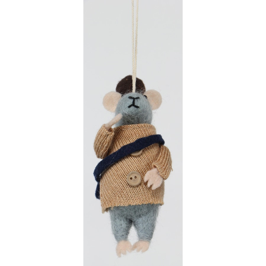 Holiday Living Gray Mice Ornament