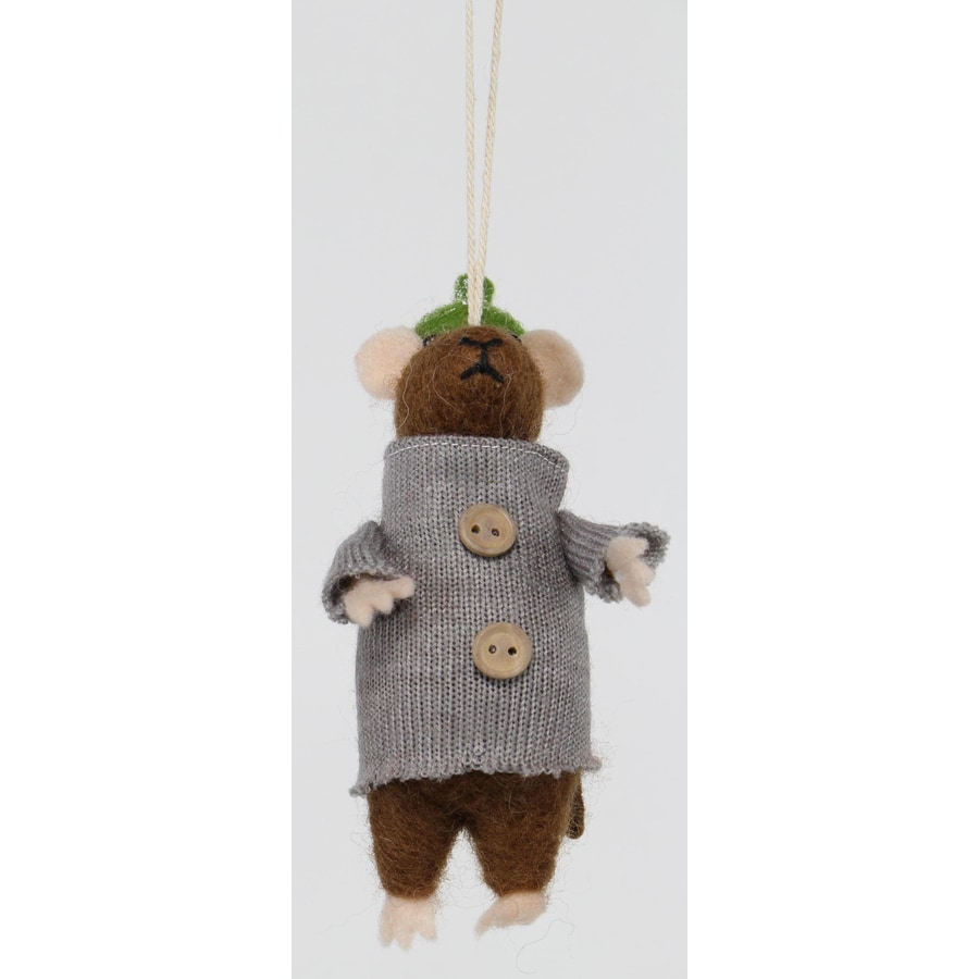 Holiday Living Brown Mice Ornament