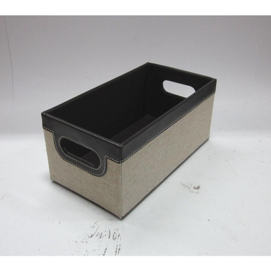 allen + roth 11-in W x 4.875-in H x 6-in D Linen Box