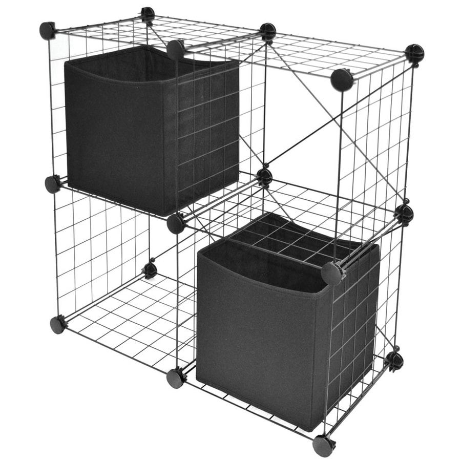 Style Selections 2-ft L x 11.25-in D Black Wire Shelf