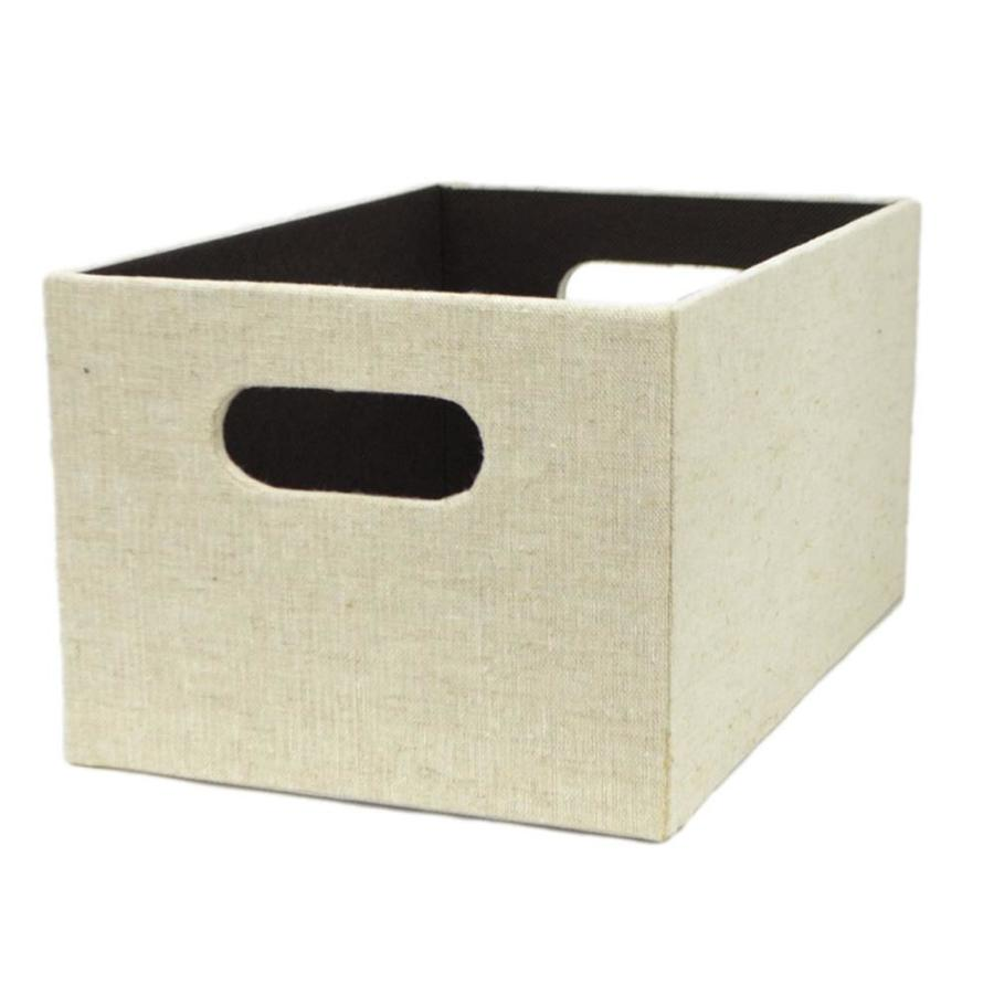 allen + roth 10.69-in W x 5.5-in H x 7.13-in D Cream Fabric Bins