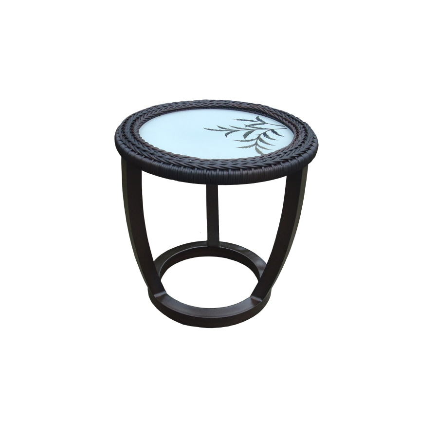 Garden Treasures Kenmont Round End Table